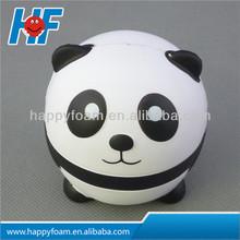 Hot sale PU panda stress ball promotional gift