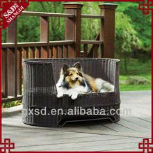 S&D handmade rattan sofa bed luxury pet dog beds