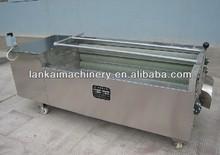 good quality automatic fruit washing machine/vegetable washing machine/carrot washing and peeling machine
