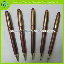 Novelty 2014 carved wood pen,wood pen blanks,pen kits wood for promotional item