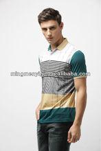2015 the hot sale stock business fashion 100% cotton men t-shirt wholesale