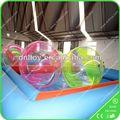 Piscina inflable de diapositivas con la pared de escalada/inflable del agua de la piscina para los niños