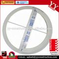 australia estándar de aluminio toldo circular con ventanas de doble cristal