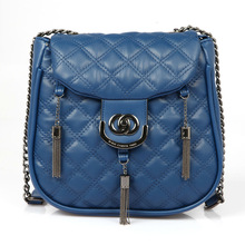 2014 new arrival fashion candy color cute shoulder bag with tassels for girls and women