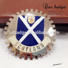 custom metal car badge car emblem for sale with various logo