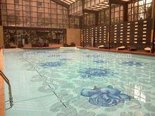 Pool mosaic, granite swimming pool tiles