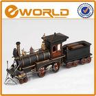 Art handicraft classical decorated gift retro Antique diecast metal train model toy