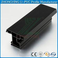 Guangzhou white windows and doors lg upvc profile manufacturer