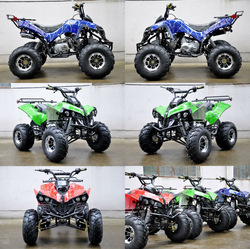 50CC ATV, 125CC ATV, 150CC ATV, 250CC ATV Go Kart Buggy QUAD ATV 4 Wheeler Kids Mini electric ATV QWMOTO