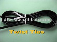 electrical twist ties/PVC twist ties/ twistband