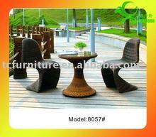 comfortable rattan aluminum table met