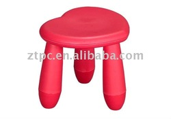 ZTPC PP Plastic kids stool indoor furniture for kids