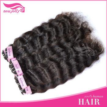 No tangle or shedding,wavy virgin brazilian hair