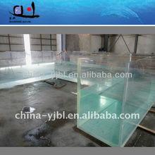 large acrylic fish tank