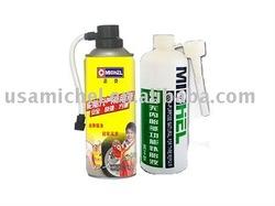Aerosol Tire Sealer and Tire Sealant