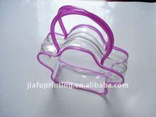 Fashinable PVC vinyl stylish bag with handle