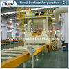 Steel Plate and H Beam Shot Blasting Machine with painting system