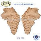 beautiful flowery hand carved wooden handicraft,wooden carving crafts (EFS-OG 01)
