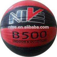 Laminated PU match basketball