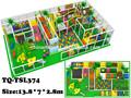 2014 nouveau design de mode enfants aire de jeux intérieure tq-tsl374