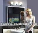 aluminum frame magic mirror light box,advertising mirror frame