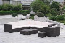 Modern outdoor garden rattan sofa