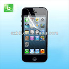 Manufacturer high quality PET materail for iphone 5 screen protector