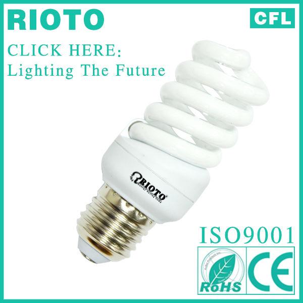 Full Spiral CFL Bulb CE/RoHS/SASO/BV Cerfications