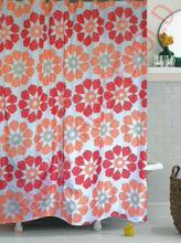 hot pink shower curtains elegant bath curtains 2012