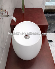 Custom-made solid surface countertop basin C7