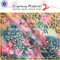2014 china fornecedor por atacado de fabricação de tecidos de seda impresso tecido chiffon
