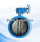 double flanged eccentric butterfly valves