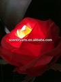 fleurs en soie fleur roses orange led led led rose fleurs touch real fleurs artificielles avec des lumières led avec tige
