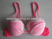 Hotsale lady's shinning pink lingeries