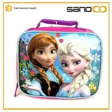Princess Elsa & Anna Picnic Box, Wholesale Kids Frozen Lunch Bag