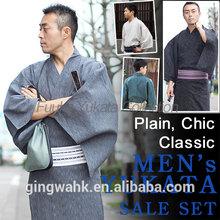 Ging Wa Japanese Wholesale Shop Washable Cotton Men Man Clothing Kaku Obi Jiu Jitsu bjj jiu ji Kimono Yukata Karate Judo