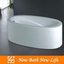acrylic free standing oval bathtub/classical bathtub/fiberglass bathtub