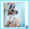 Modern handmade animal decorative oil painting