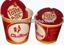 FDA and EU certified 150oz eco-friendly fried chicken buckets