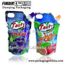 Liquid packaging plastic bag Stand Up Pouch With Spout/filling mouth