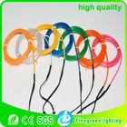 el wire cable,el wire neon rope light,warranty 1 year el wire