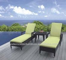 Hotsale Outdoor Furniture Beach Rattan Chaise Lounger TG-6003