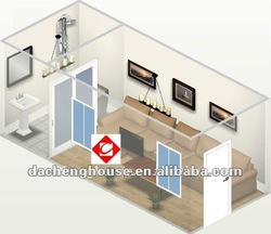 Modular EPS /PU Panel Container Office /House with Bathroom