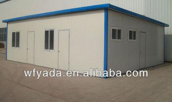 easy assembly prefab steel house/light steel villa/prefab camping house