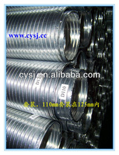 Factory direct Free Samples Aluminum Flexible corrugated air duct