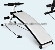 With Rope Folding Weight Bench