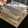 glazed porcelain marble floor tile for bedroom and bathroom white color