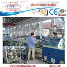 SJZ80/156 schedule 20 PVC gas/water supply pipe extruder machine