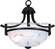 UL CUL CE listed LED Glass Contemporary Pendant Light