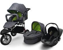 Baby Pushchair 3 in 1 With EN1888 Approval Baby Stroller Baby Pram